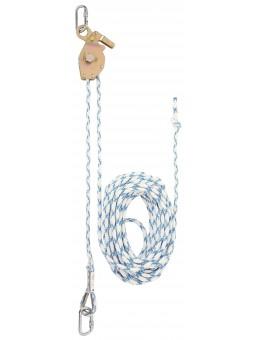 Временная горизонтальная анкерная линия Honeywell Serpent Temporary Horizontal Lifeline, 20м